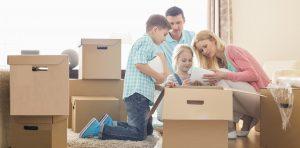 Jednostavno pakovanje i raspakivanje za selidbe